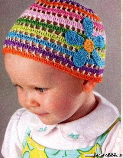 Комментарий: Вязание крючком образцы описание. . Вязанные детские шапочки на осень а вяжем крючком шапочки детские