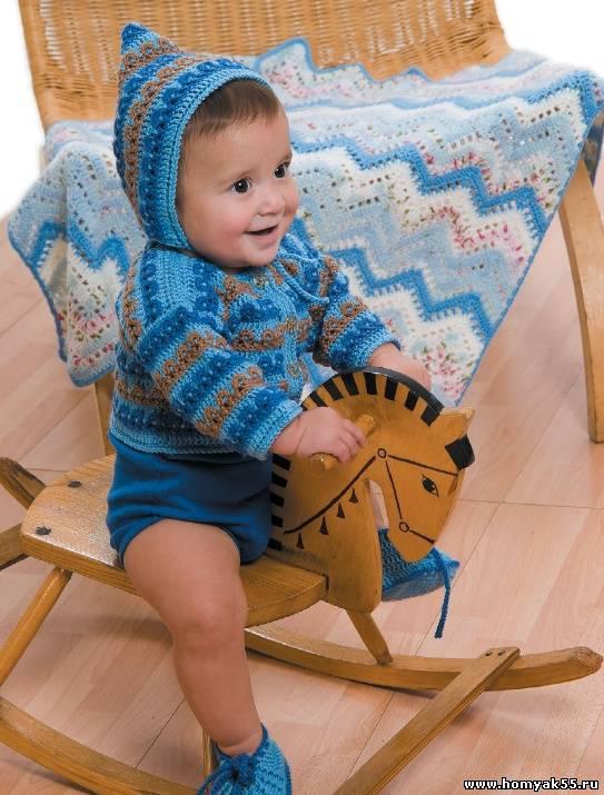 Страна мам вязание крючком для мальчика до года 71