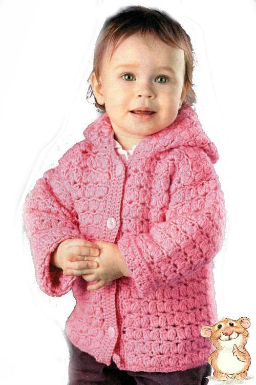 Розовый жакет с капюшоном
