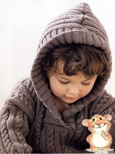 Пуловер для мальчика с