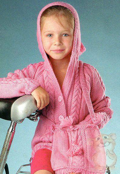 Кофты, жакеты, свитера для детей спицами » Хомяк55.ру