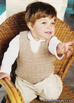 жилетка для мальчика