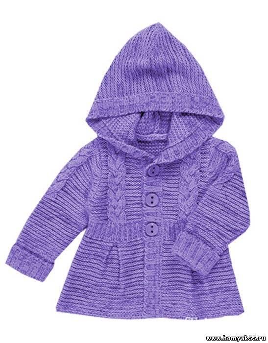 Вязаный жакет - пальто для