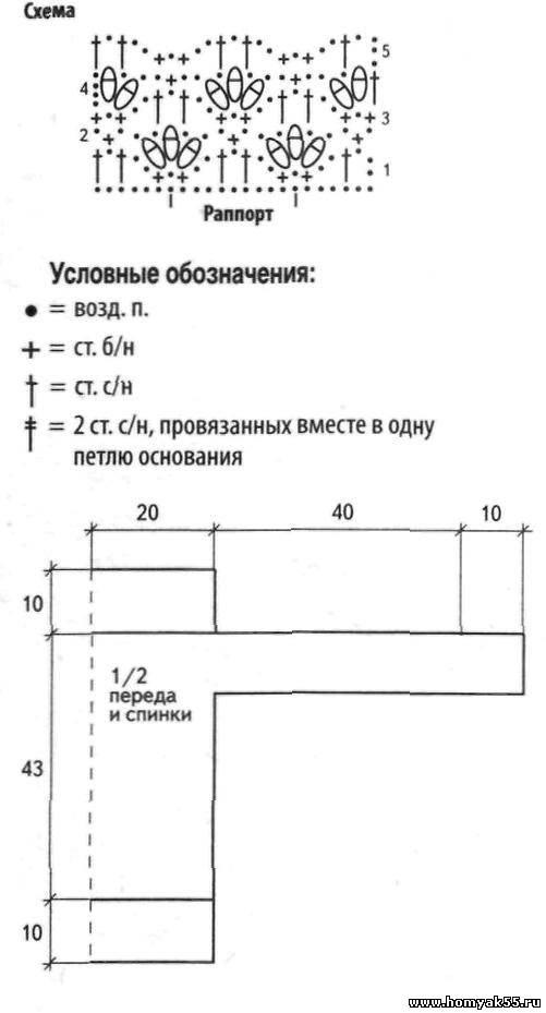 Кофта из толстой пряжи спицами схема вязания 762