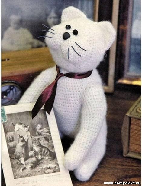 Игрушка «Кот в галстуке»