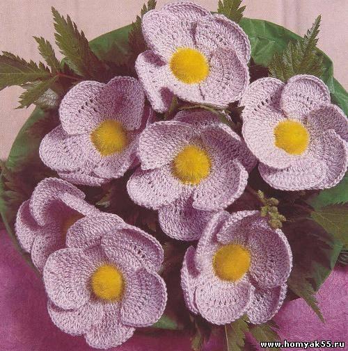Романтичные цветы сиреневого