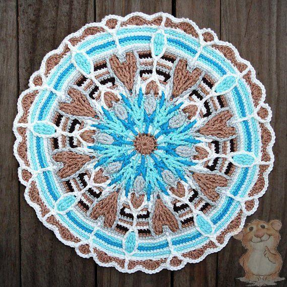overlay crochet техника вязания