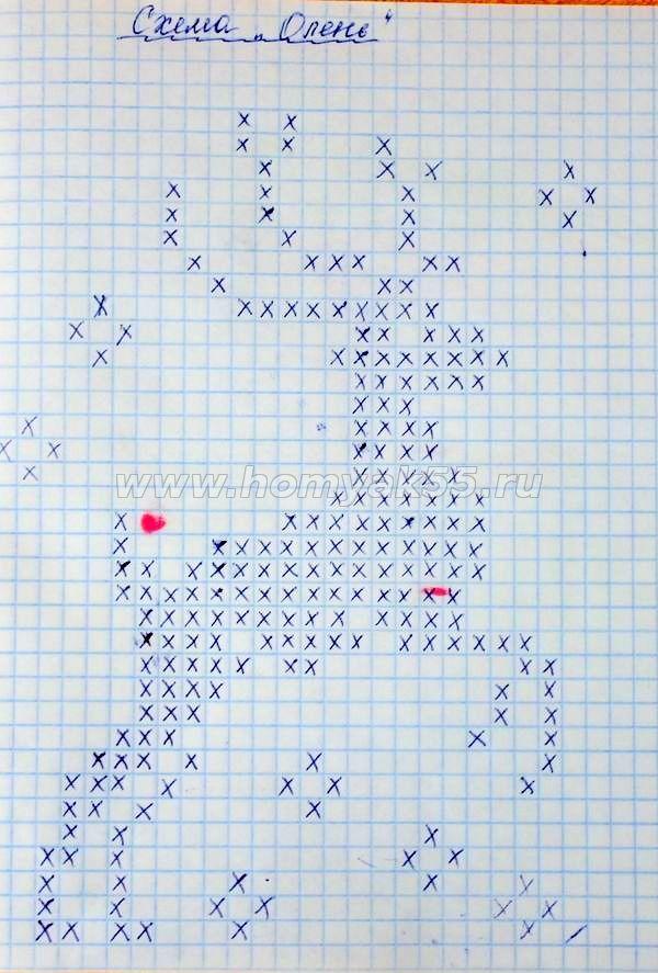Рисунок вязание изнаночной вязкой