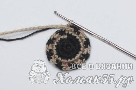 Сумка (мочила) крючком с рисунком