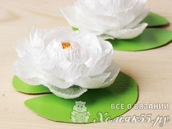 Как сделать белую лилию 856