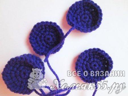 Цветы крючком - ранункулюсы