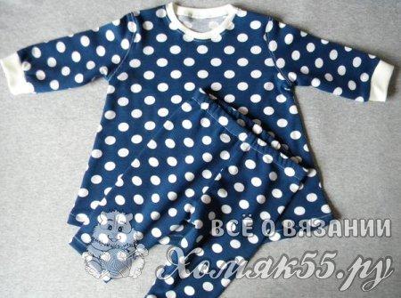 Как сшить платье для новорожденной