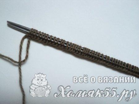 Вязание спицами шапок от макушки до 164