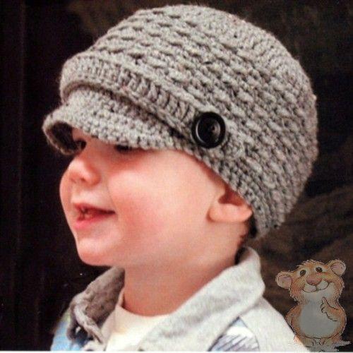 Видео вязания крючком шапочки для мальчика