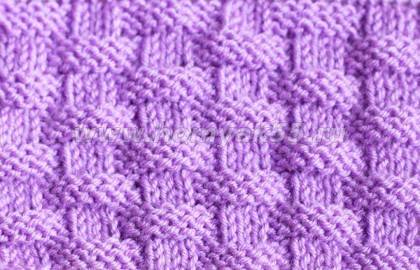 Поиск на Постиле: узор плетенка спицами схема 64
