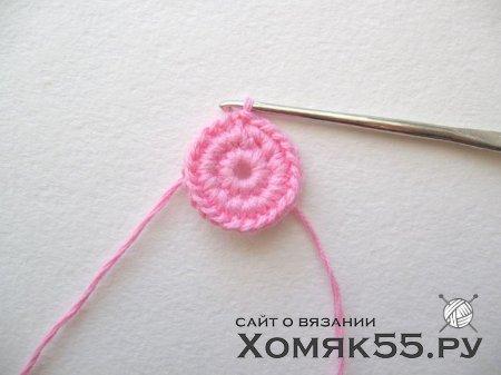Цветок крючком «Нежность». Мастер-класс по вязанию