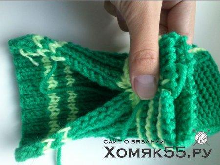 МК по вязанию носочков-сов