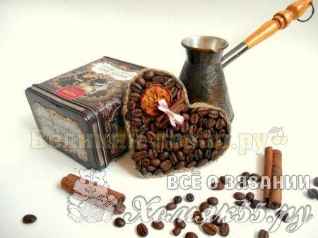 Мастер-класс по созданию магнита из кофе