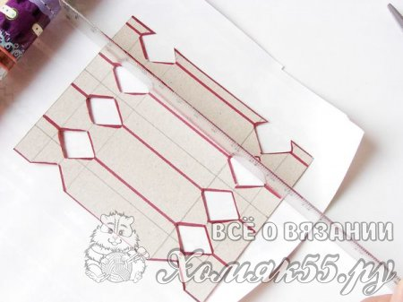 Конфетка из упаковочной бумаги
