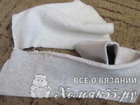 Трикотажная шапка для девочки за 30 минут