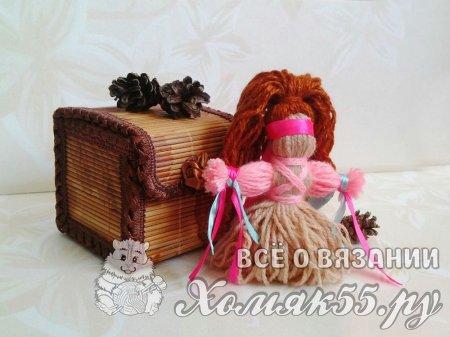 Кукла из пряжи «Желанница». Мастер класс